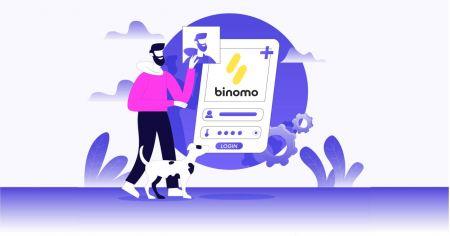 Como abrir uma conta de negociação no Binomo