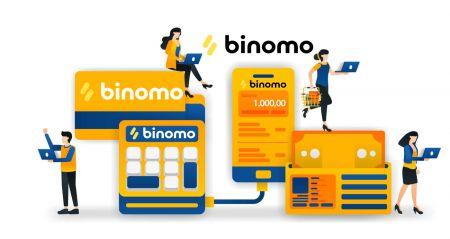 Binomoで預金資金を引き出して作る方法