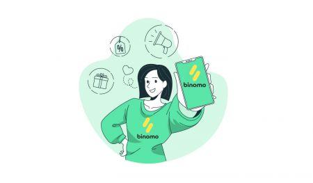 Binomoで口座を開設して資金を入金する方法