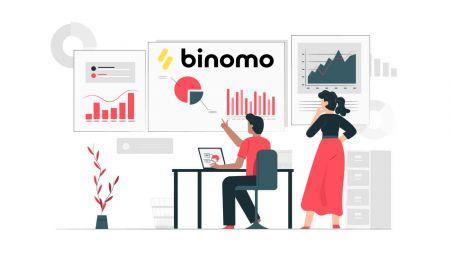 Binomoのデモ口座に登録して取引を開始する方法