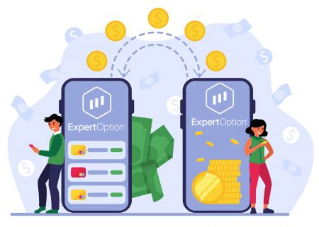 ExpertOptionでお金を入金する方法