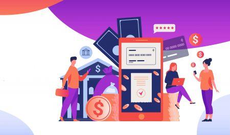 IQcent にログインしてお金を入金する方法