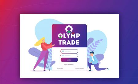 How to Open Account and Sign in to Olymp Trade