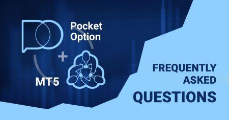 Pocket OptionのForexターミナルに関するよくある質問