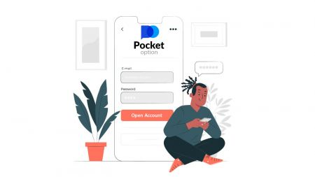 Como abrir uma conta de demonstração no Pocket Option