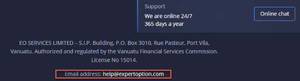 How to Contact ExpertOption Support